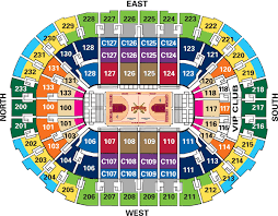 Cavs Seating Chart Cleveland Floor