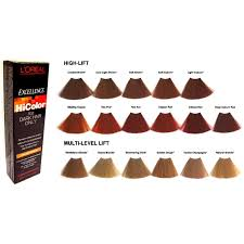 l oreal excellence hicolor 1 74 oz hilights 1 2 oz permanent haircolor creme ebay