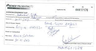 premium receipt of icici prudential life insurance icicipru blast info leak causes harass to