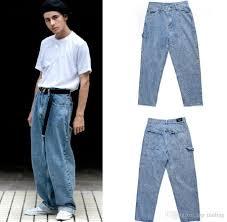 Light Blue Jeans Men S Style Light Blue Baggy Jeans Mens