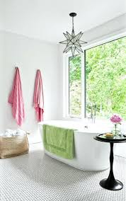 tile above bathroom vanity star pendant tile with chrome bathroom vanity lights contemporary and pink towels
