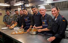 Navy Cook Football And Food Armada Style Navy Daily
