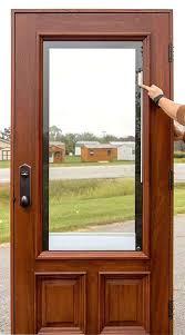 wood door blinds. Exterior Wood Door Blinds