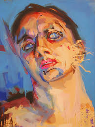 for this image i took inspiration from jenny saville who is a female artist
