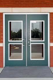 school doors. Pair With Levers Offset Pulls School Doors