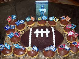 Football Cupcakes Archives Kids Birthday Parties