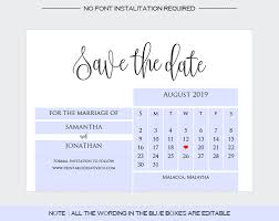 Save The Date No Photo Save The Date
