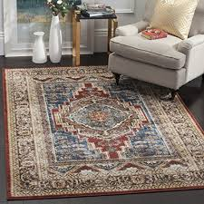 safavieh bijar collection bij636b traditional oriental vintage royal blue and brown area rug 3
