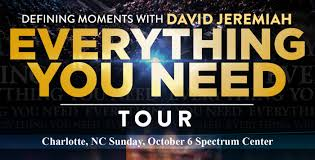 David Jeremiah Free Prophecy Chart Dr David Jeremiah Spectrum Center Charlotte