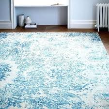 west elm charm wool rug distressed ink arabesque neutral rococo