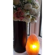 night light himalayan crystal rock salt lamp clean air radiation protection lamp