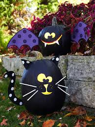 black cat bat pumpkins these are the best diy carved decorated