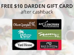 want an excuse to eat out take advane of this awesome freebie right now we can get the a free 10 darden gift card this is how it works when you