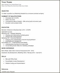 Entry Level Resume Samples For College Graduate New Resume Templates
