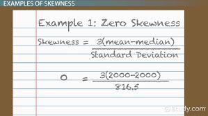 Skewness In Statistics Definition Formula Example Video