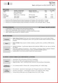 Resume Summary For Freshers Example B Com Sample Resume For Freshers Objectives 24 Free Objective A 19
