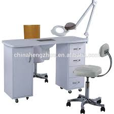 general use nail table dust collector beauty salon desk for pedicure and manicure treatment