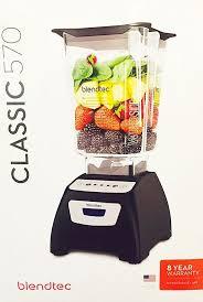 blendtec clic 570 with wildside jar 5 sd blender black c570a2301c walmart
