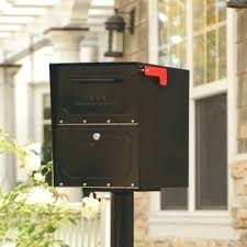 Oasis Locking Mailbox Post Mount Mounted  Jr Column78