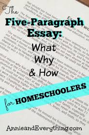 the five paragraph essay what why and how for homeschoolers  trying to teach the five paragraph essay in your homeschool here s what we do