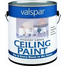 white ceiling paintZinsser Ceiling Paint  Walmartcom