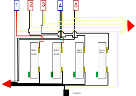 i am in the process of finishing and area in a basement i 4 Gang Wiring Diagram 4 Gang Wiring Diagram #4 4 gang wiring diagram