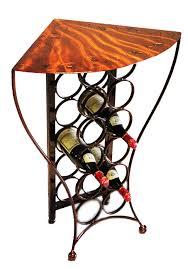 wine rack table. Iron Chinchilla Balaton Corner Wine Table By- Design Studio Custom Made Rack L