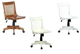 desk antique wooden swivel desk chair wood desk chair white lacquered finish mission style armless