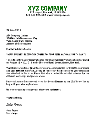 Best Ideas Of Sample Invitation Letter To Us Consulate For Business