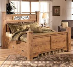 Bittersweet King Size Storage Poster Bed By Signature Design