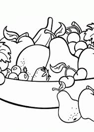 Small Picture Fruit coloring pages for kids big collection of Fruit printables