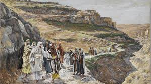 Image result for jesus leading the disciples
