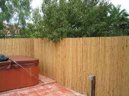 Fence Cover Idea Bamboo Covering Chain Link Fence Google Search