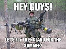 Hey guys! Let's fly to England for the summer! - Firearm Frenzied ... via Relatably.com