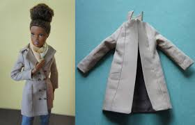 doll trench coat sewing pattern