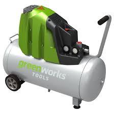 Купить <b>Компрессор воздушный 50л GreenWorks</b> GAC50L ...