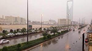 أمطار #الرياض تستنفر عناصر الدفاع المدني