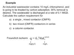 Carbon Column Design Adsorption Column Design