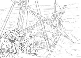 Jezus Slaapt In De Boot Kleurplaat Gratis Kleurplaten Printen