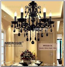 vintage french style crystal chandelier lighting fixture vintage black wrought iron chandelier suspension hanging lamp light modern ceiling lamps pendant