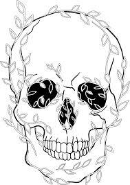 тату череп значение с розами с короной 15 эскизов простых тата