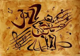 saatchi art jazz abstract original coffee painting painting by georgeta blanaru