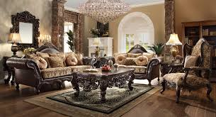 Traditional Sofa Sets Living Room Homey Design Hd 3280 Slc 3 Pcs Traditional Sofa Loveseat And Chair Set