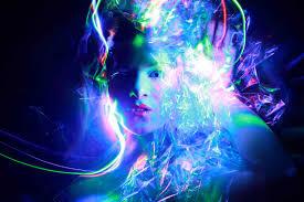 gamma ray light painting technique