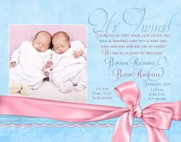 twin birth announcements photo cards twin celebration birth announcement double baby boy arrival
