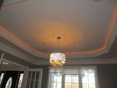 tray ceiling rope lighting. tray ceiling with rope lighting chandelier
