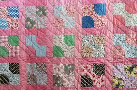 Discover Vintage America | Michelle Knows Antiques & Detail, 1930s bow tie quilt made by the author's great-grandmother,  Isabelle Day Rogers (Sandra Starley collection) Adamdwight.com