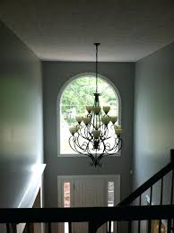 2 story foyer chandelier how low to hang a chandelier in 2 story foyer