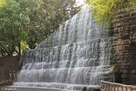 waterfall in phase 3 of the rock garden chandigarh