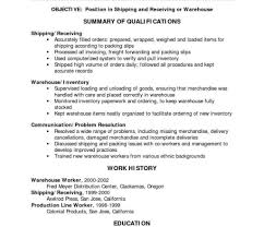 Warehouse Worker Resume Example Examples Of Resumes Skills Photo